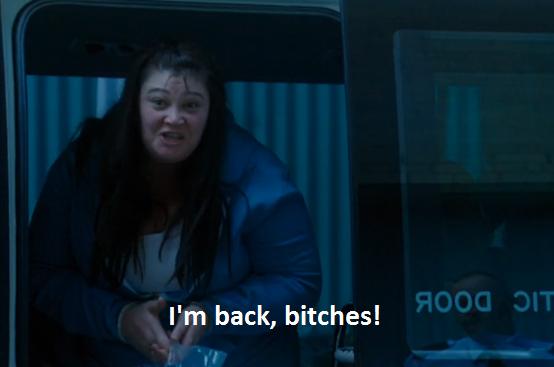 Boomer returns in Wentworth Prison series 4